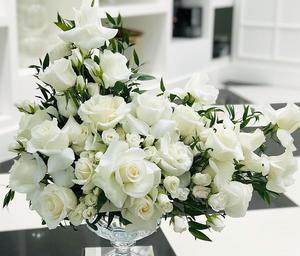 Drivu White Rose & Baby Rose