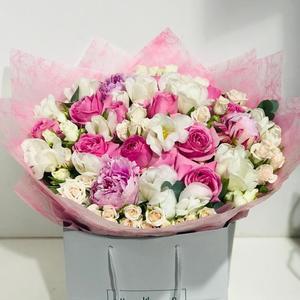 Drivu Shades of Pink Peony Eid Bouquet