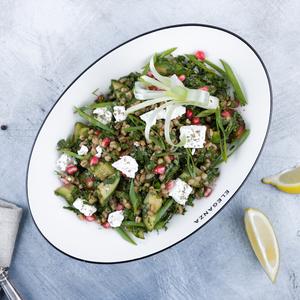 Drivu Barley Salad