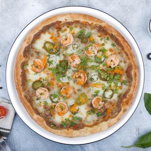 Drivu Thai Shrimp Pizza