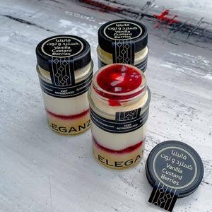 Drivu Vanilla With Custard And Berries Cake Jar