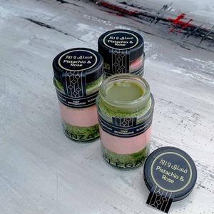 Drivu Rose Pistachio Cake Jar