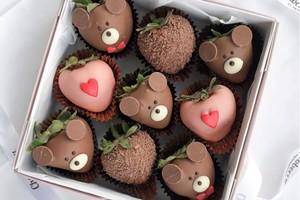 Drivu Bears Strawberries (9 pieces)