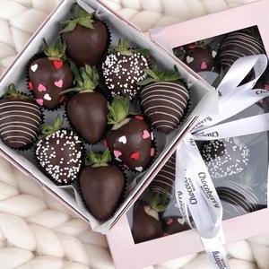 Drivu Dark Night Strawberries (9 pieces)