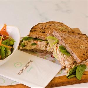 Drivu Yamanote Chicken Salad Sandwich