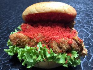 Drivu Cheetos Chicken Burger