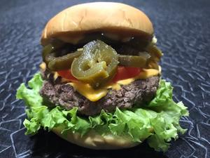 Drivu Jalapeno Beef Burger