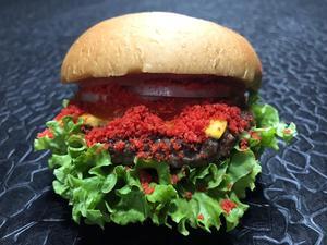 Drivu Cheetos Beef Burger