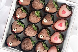 Drivu Bears Strawberries (16 pieces)