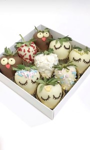 Drivu Bird & Angel Strawberries (16 pieces)