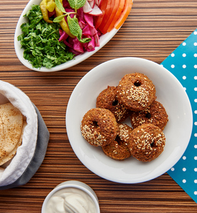 Drivu Falafel Platter