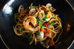 Drivu Seafood Spaghetti