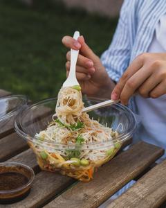 Drivu Thai Ginger Noodle Bowl