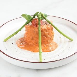 Drivu Chicken Risotto Pink Sauce