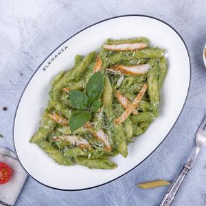 Drivu Creamy Pesto Penne Pasta
