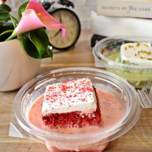 Drivu Red Velvet Milk Cake