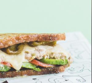 Drivu TunaCado Sandwich