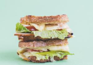 Drivu Turkey & Cheddar Sandwich