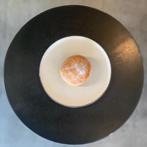 Drivu Vanilla custard donut