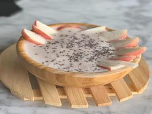 Drivu Peach Smoothie Bowl