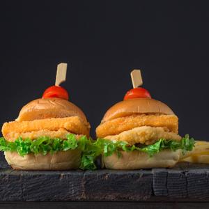 Drivu Chicken Cheese Burger