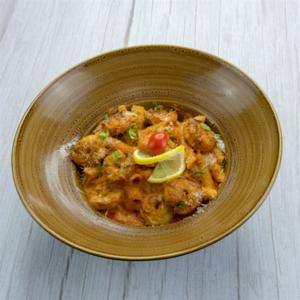 Drivu Pasta with Shrimp & Mix Sauce