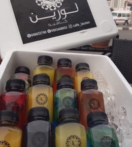 Drivu Juice Bottles (12 pieces)