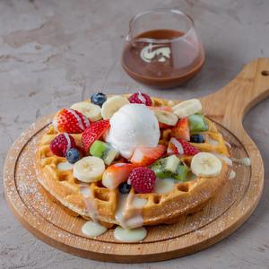 Drivu Fruits Waffle