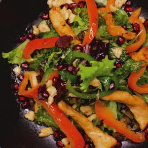 Drivu Fajita Salad