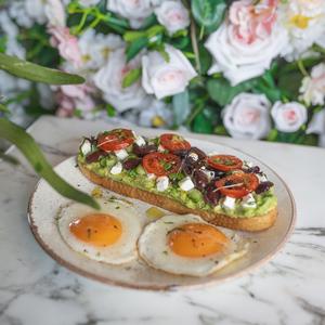Drivu Mediterranean Avocado Toast