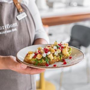 Drivu Halloumi Avocado Toast