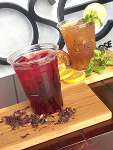 Drivu Dose Hibiscus Iced Tea