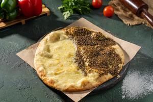 Drivu Zaatar & Cheese Manoushe