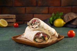 Drivu Kofta & Hummus Wrap