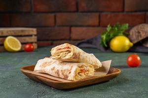 Drivu Turkey with Cheese Wrap