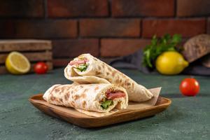 Drivu Halloumi & Vegetables Wrap
