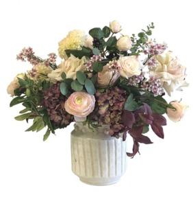 Drivu The White Netherland Flowers Vase