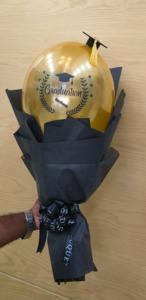 Drivu Gold Graduation Balloon