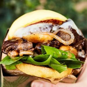 Drivu Philly Steak Burger