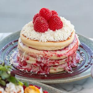Drivu Raspberry & White Chocolate Pancakes