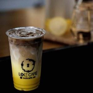 Drivu Iced Jaune D'or (Saffron) Latte