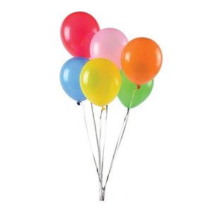 Drivu White Helium Balloon