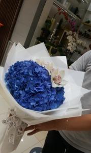 Drivu Blue Hydrangeas Bouquet