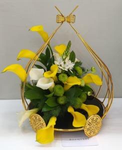 Drivu Yellow Calla Lilies