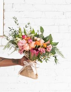 Drivu Peach Color Bouquet