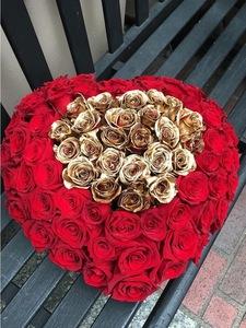 Drivu Heart Shape of Roses