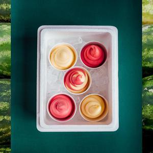 Drivu Berrymelon & Lychee-Pineapple Box (5 cups)