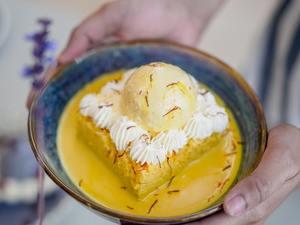 Drivu Saffron Milk Cake