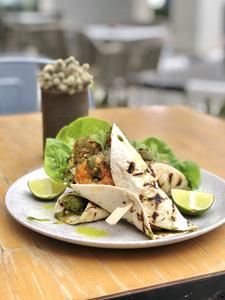 Drivu Prawn Tacos