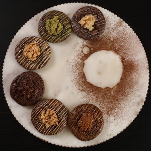 Drivu Crunchy brownie cookies box